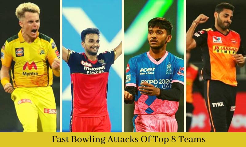 Fast Bowling Attacks Of Top 8 Teams