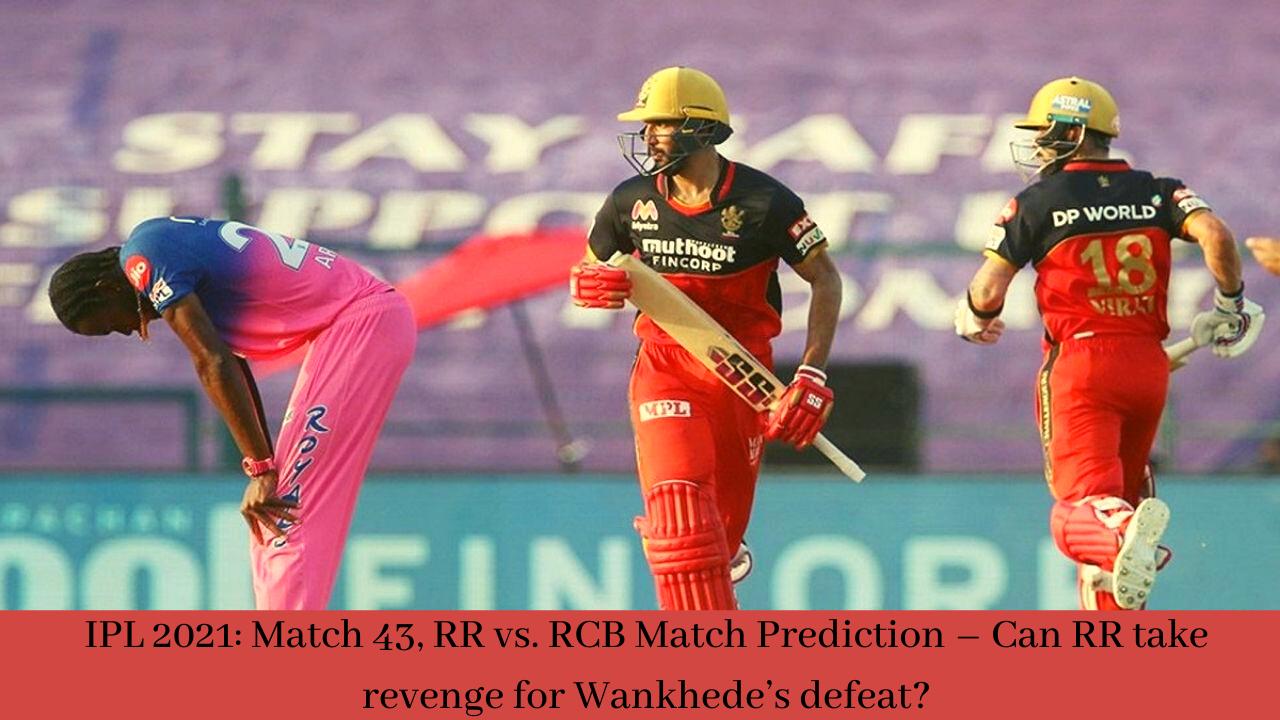 RR vs. RCB Match