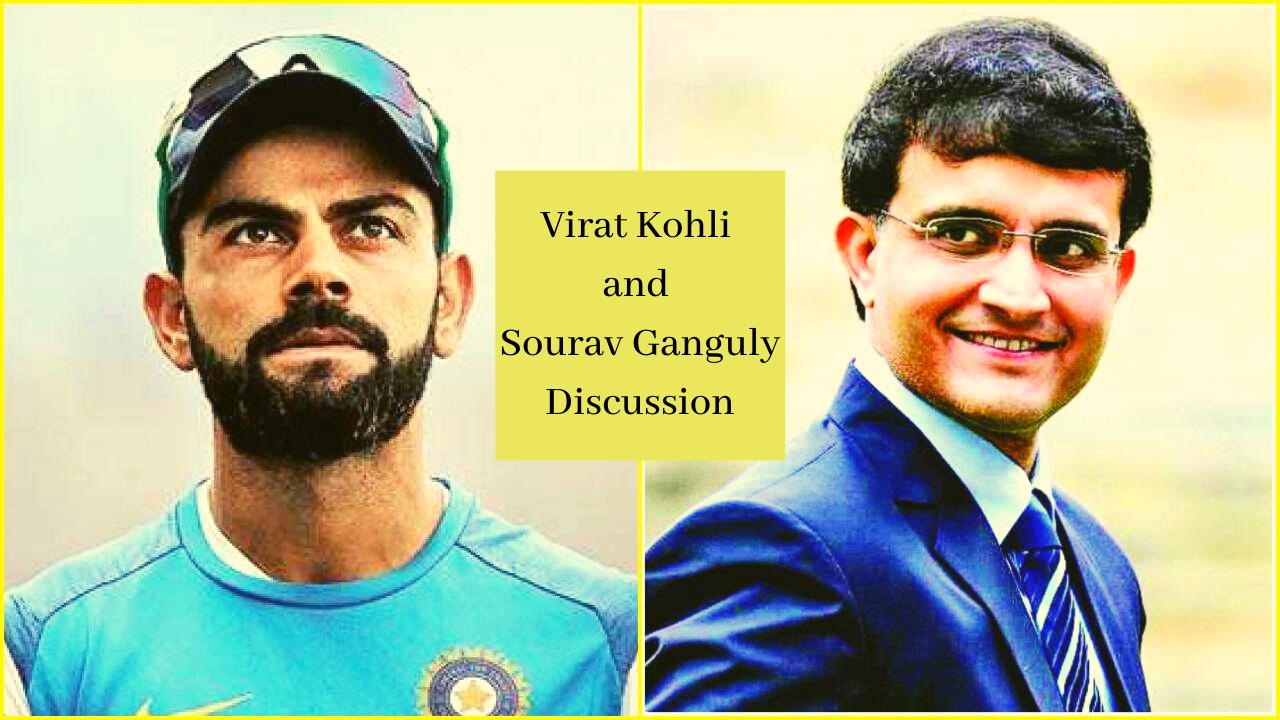 Virat Kohli and Sourav Ganguly Discussion
